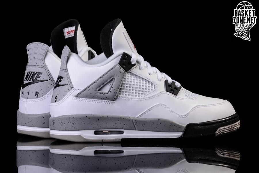 best sneakers bc5fc 0321f best air jordan 4 retro white cement low 3afa0 426ac