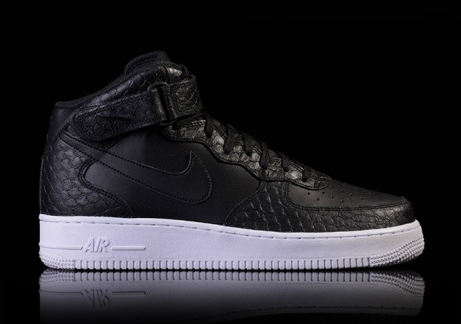 NIKE AIR FORCE 1 MID '07 LV8 BLACKBLACK WHITE price ?112.50