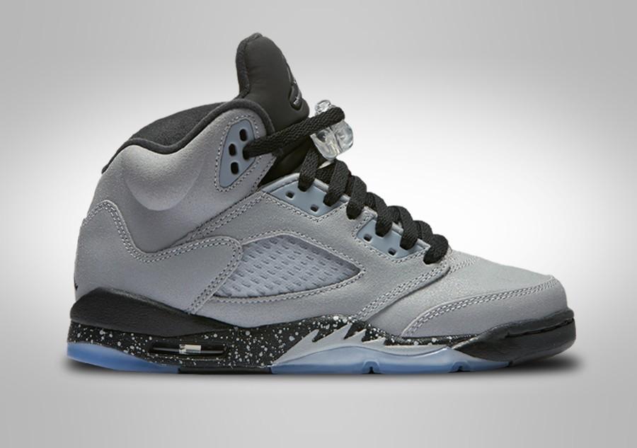 sneakers for cheap 44453 cc2f2 NIKE AIR JORDAN 5 RETRO GG WOLF GREY