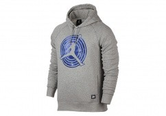 NIKE AIR JORDAN 11 SPACE JAM FLEECE HOODY DREY HEATHER