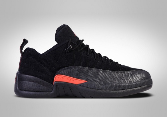 NIKE AIR JORDAN 12 RETRO LOW MAX ORANGE