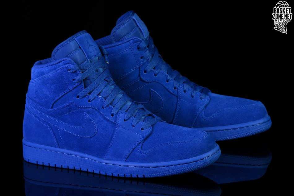 ea08edd4b26f1b NIKE AIR JORDAN 1 RETRO HIGH BLUE SUEDE price €122.50
