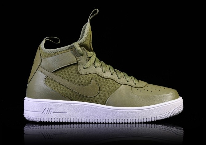 NIKE AIR FORCE 1 ULTRAFORCE MID PALM GREEN por €99 0c9f189496175