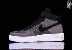 free shipping f76bc e5741 NIKE AIR FORCE 1 ULTRA FLYKNIT MID HOT PUNCH