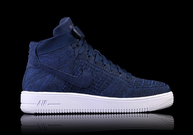 Nike Air Force 1 Ultra Flyknit Mid Blue in 2019 | Nike air