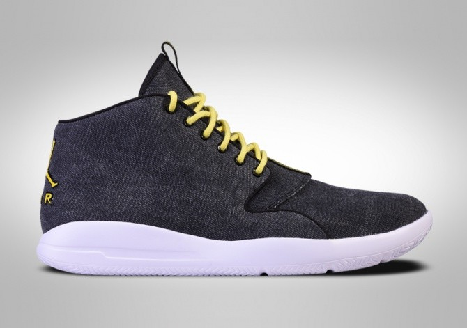 NIKE AIR JORDAN ECLIPSE CHUKKA BLACK OPTI YELLOW