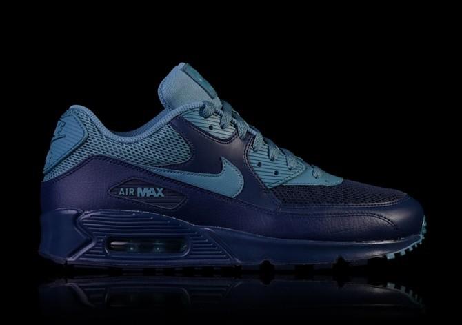 Nike Air Max 90 Essential Midnight NavySmokey Blue 537384