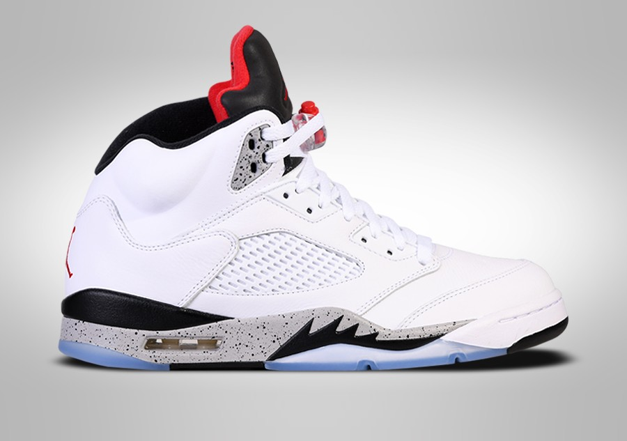 ce76661d0aa3 NIKE AIR JORDAN 5 RETRO WHITE CEMENT BG (SMALLER SIZE) price €127.50 ...