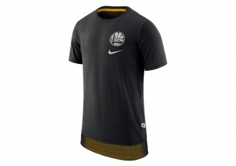 NIKE NBA GOLDEN STATE WARRIORS TEE ENGY MESH DH BLACK
