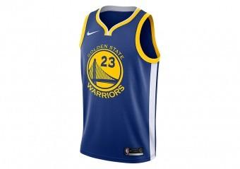 NIKE NBA GOLDEN STATE WARRIORS DRAYMOND GREEN SWINGMAN JERSEY RUSH BLUE