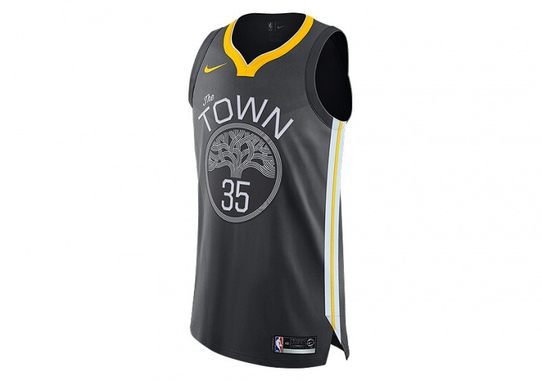 brand new c6683 88d19 NIKE NBA GOLDEN STATE WARRIORS KEVIN DURANT AUTHENTIC JERSEY ...