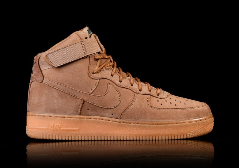 huge selection of 0f2c5 bfe2a NIKE AIR FORCE 1 HIGH  07 LV8 FLAX