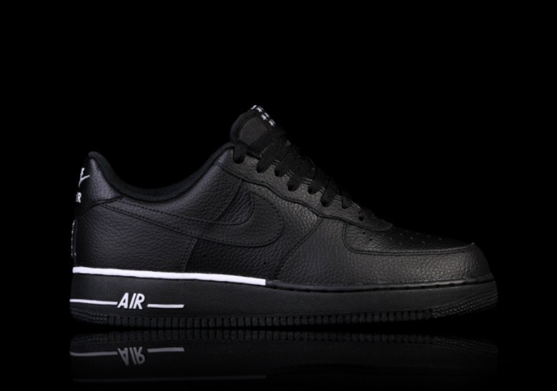 new concept a364d 400ab NIKE AIR FORCE 1  07 BLACK