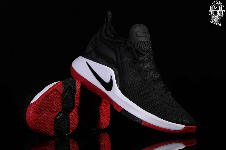 official photos d2d8f ee58f NIKE LEBRON WITNESS II BRED
