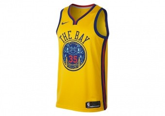 classic fit 433e2 01aee NIKE NBA KEVIN DURANT GOLDEN STATE WARRIORS CITY EDITION SWINGMAN JERSEY  AMARILLO