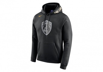 bde456caa7e8 NIKE NBA CLEVELAND CAVALIERS CITY EDITION HOODIE BLACK voor €65
