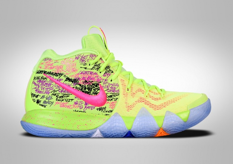 829f4d67a63f NIKE KYRIE 4 CONFETTI LIMITED EDITION pour €277