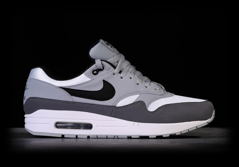 the best attitude 7c407 56a67 NIKE AIR MAX 1 WHITE WOLF GREY