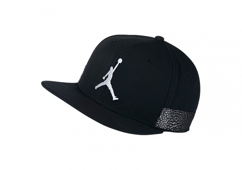 bb22b8ac9c9 NIKE AIR JORDAN JUMPMAN PRO AJ 3 CAP BLACK price €32.50