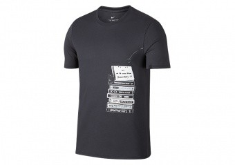 NIKE DRY KD TEE ANTHRACITE