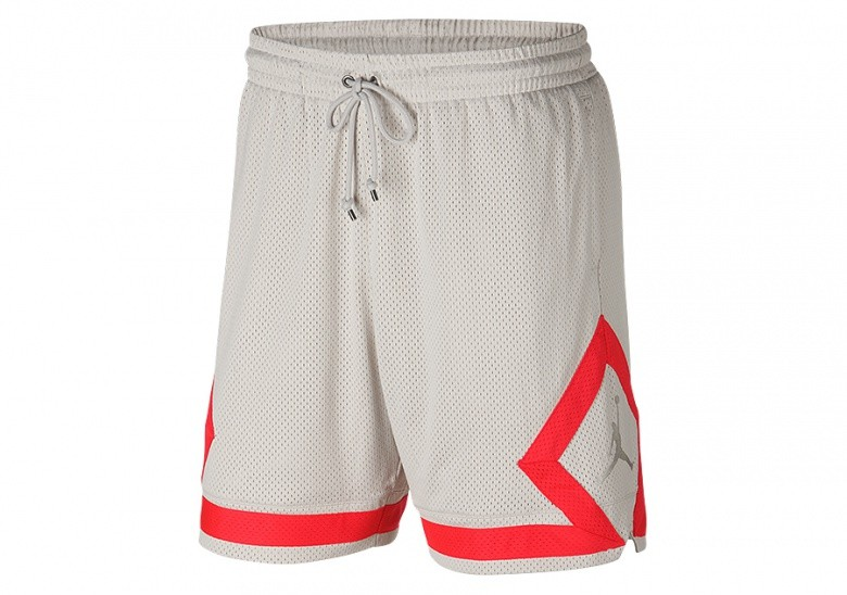 NIKE AIR JORDAN DIAMOND MESH SHORTS DESERT SAND