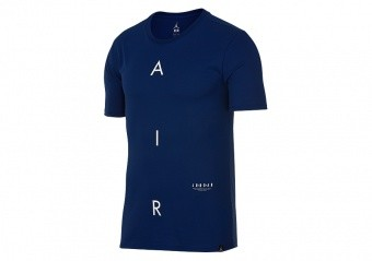 NIKE AIR JORDAN GRAPHIC TEE NAVY