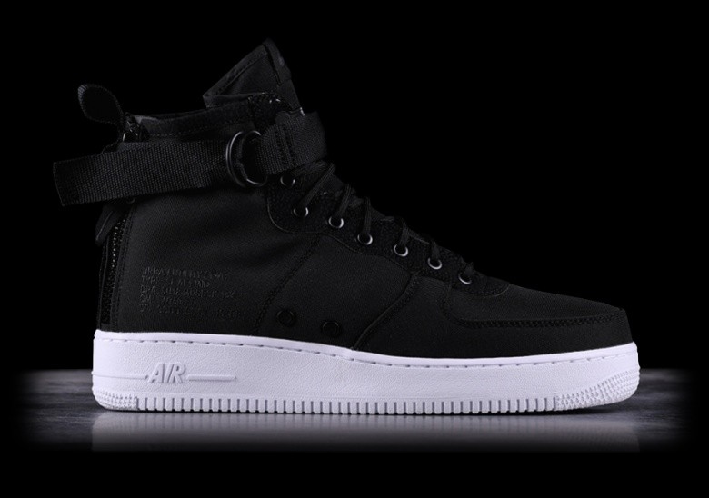 competitive price 8bf3b ddc26 NIKE SF AIR FORCE 1 MID BLACK
