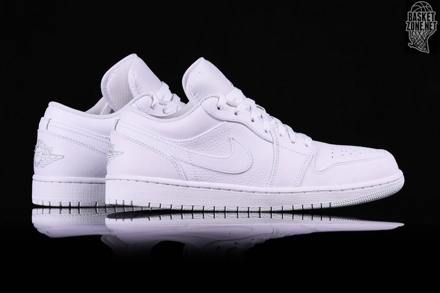best sneakers 7957d c6069 NIKE AIR JORDAN 1 RETRO LOW TRIPLE WHITE