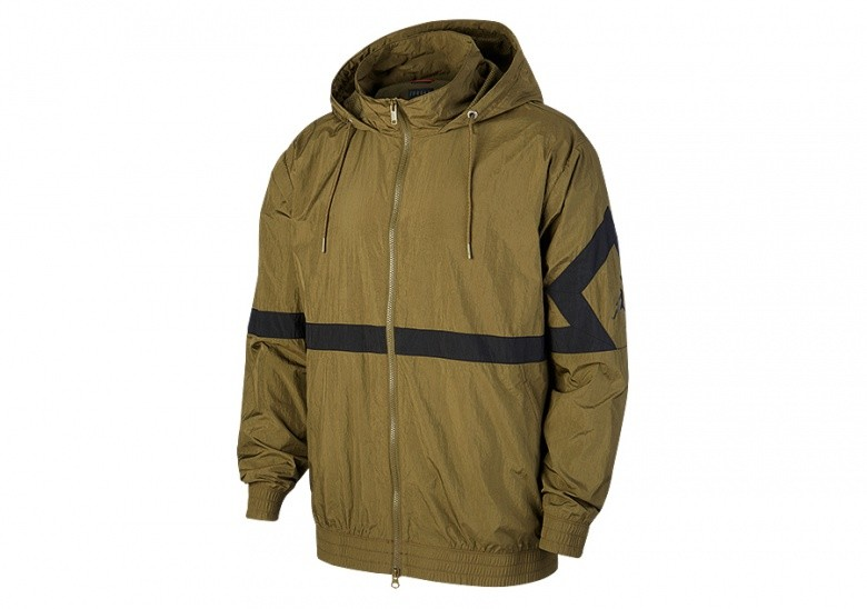 sale retailer 32a35 f8a36 NIKE AIR JORDAN SPORTSWEAR DIAMOND TRACK JACKET OLIVE CANVAS