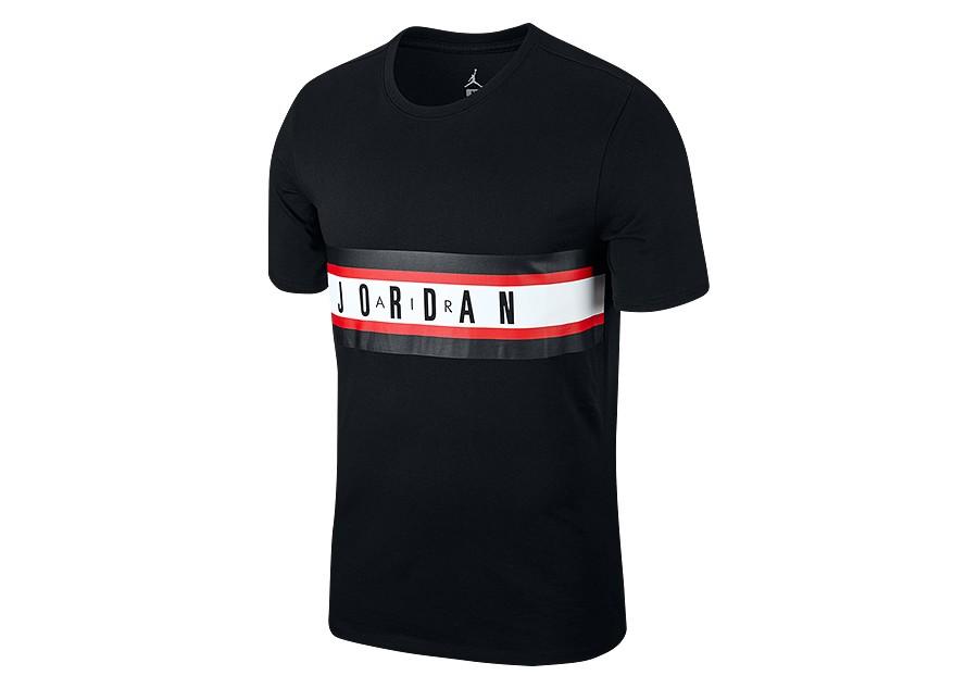 9e164296f23 NIKE AIR JORDAN BASKETBALL GRAPHIC 4 TEE BLACK price 199.00 ...