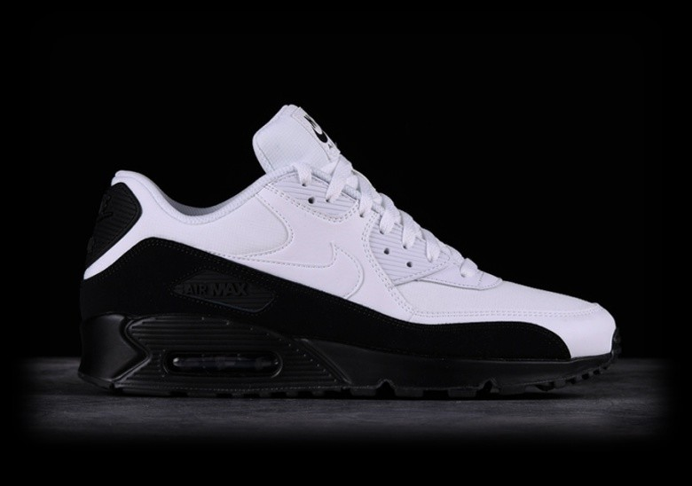 best service 37aba 15524 NIKE AIR MAX 90 ESSENTIAL BLACK WHITE