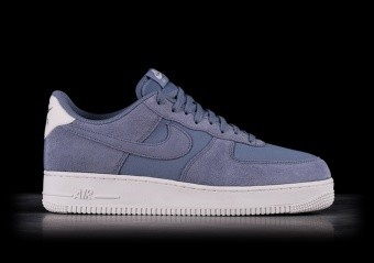 NIKE AIR FORCE 1 '07 SUEDE ASHEN SLATE
