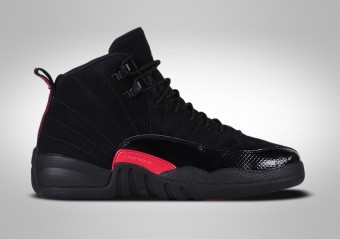 NIKE AIR JORDAN 12 RETRO BLACK RUSH PINK GG
