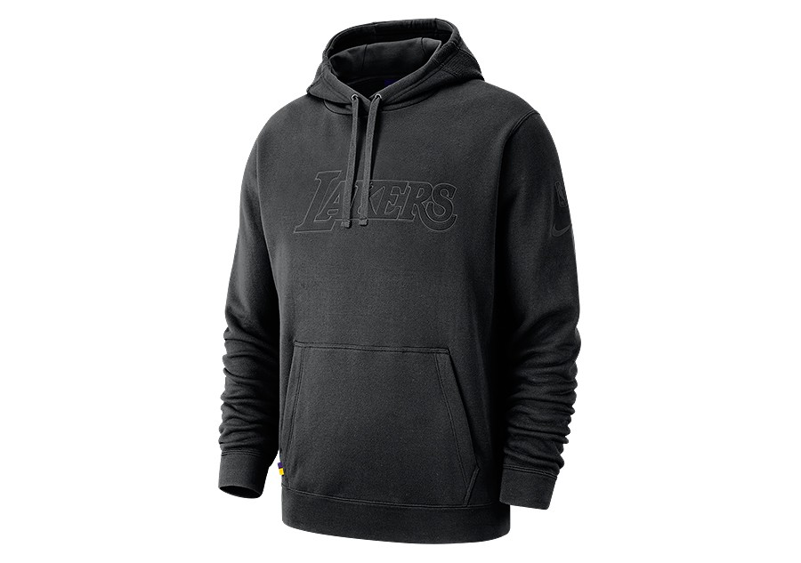 0d67a2d6cc02 NIKE NBA LOS ANGELES LAKERS COURTSIDE HOODIE BLACK price €82.50 ...