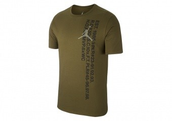 NIKE AIR JORDAN JSW GREATEST S/S TEE OLIVE CANVAS