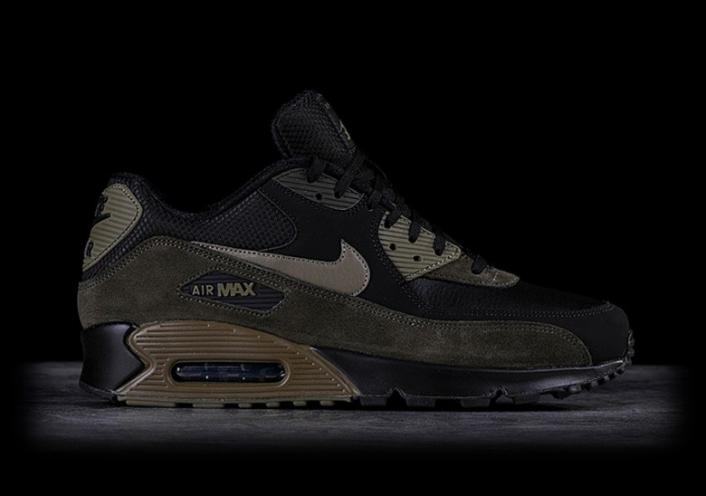 sports shoes 6b372 18476 NIKE AIR MAX 90 LEATHER MEDIUM OLIVE