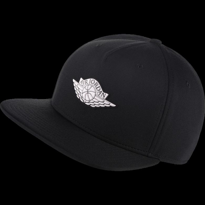 e1e946f2f1a AIR JORDAN WINGS STRAPBACK HAT. BLACK. £30.00