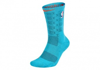 NIKE NBA OKLAHOMA CITY THUNDER ELITE CREW DARK TURQUOISE