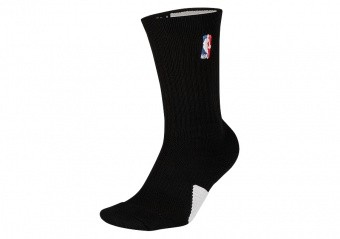 NIKE AIR JORDAN CREW - NBA SOCKS BLACK WHITE