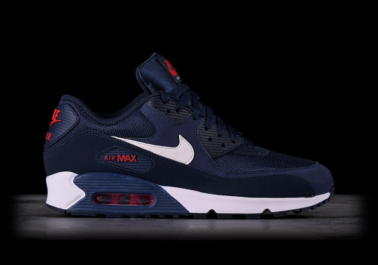 newest collection 154bb c9a4f NIKE AIR MAX 90 ESSENTIAL MIDNIGHT NAVY pour €122,50   Basketzone.net