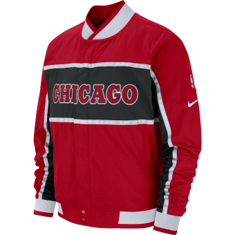 NIKE NBA CHICAGO BULLS COURTSIDE ICON JACKET