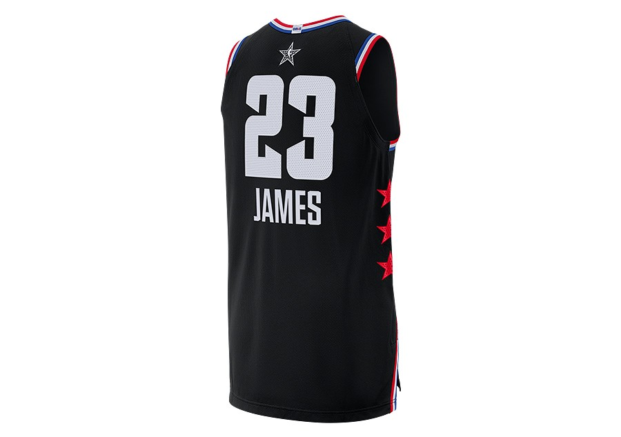 a720ade400f NIKE AIR JORDAN NBA ALL STAR WEEKEND 2019 LEBRON JAMES AUTHENTIC JERSEY  BLACK price €189.00