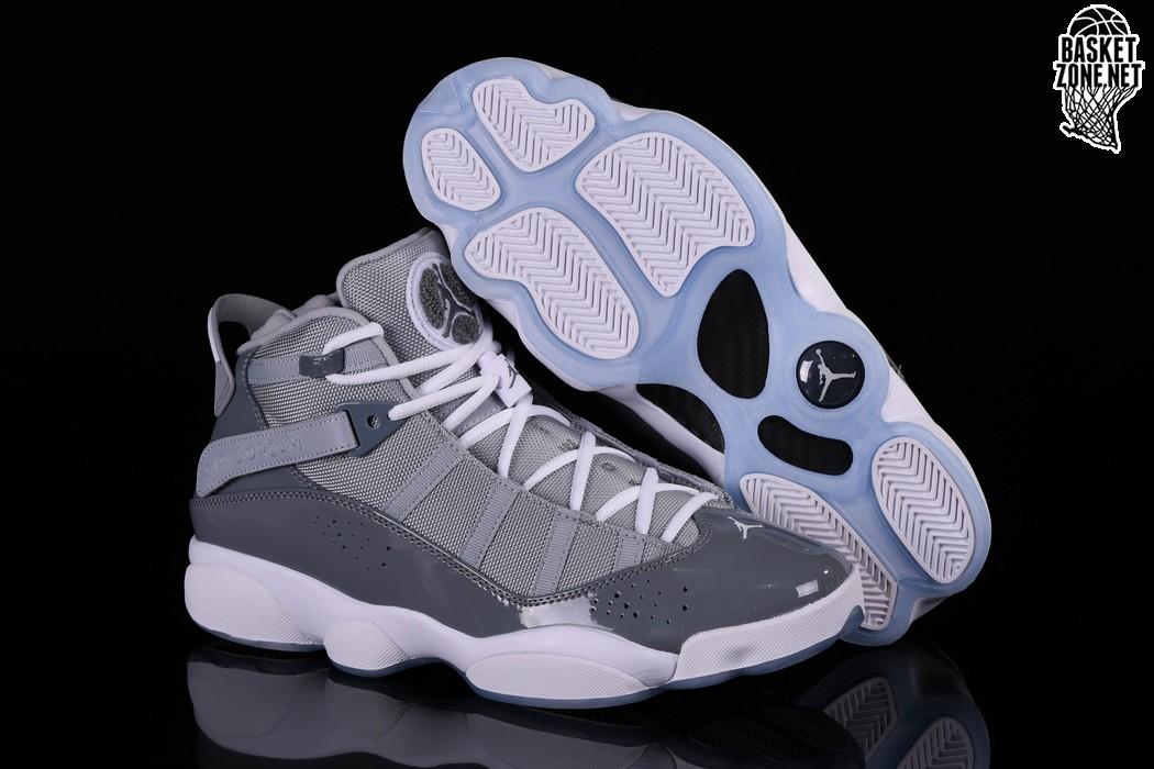 sports shoes d8249 48d30 NIKE AIR JORDAN 6 RINGS COOL GREY