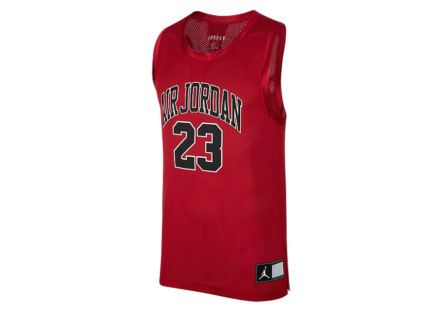more photos f870e 2f6e3 NIKE AIR JORDAN DNA DISTORTED JERSEY GYM RED price €42.50   Basketzone.net
