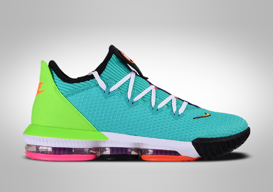 NIKE LEBRON 16 LOW HYPER JADE price ?157.50 |