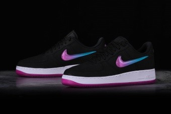 NIKE AIR FORCE 1 '07 PRM 2 ACTIVE FUCHSIA