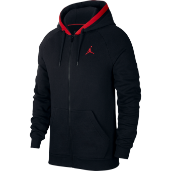 AIR JORDAN FLEECE FULL-ZIP HOODIE
