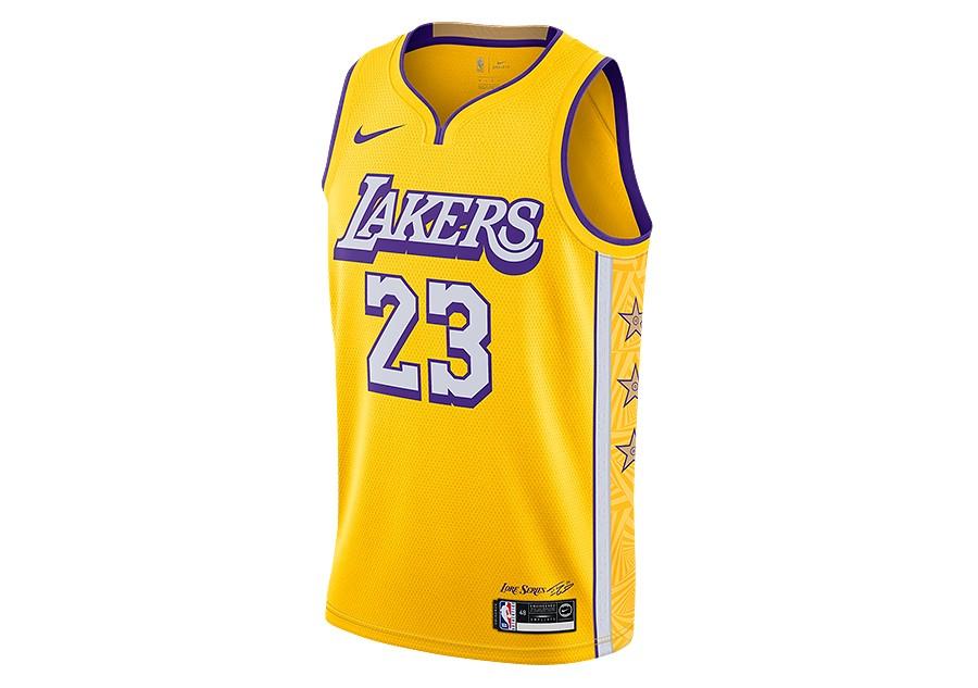 Nike NBA Los Angeles Lakers Swingman Jersey Road LeBron James