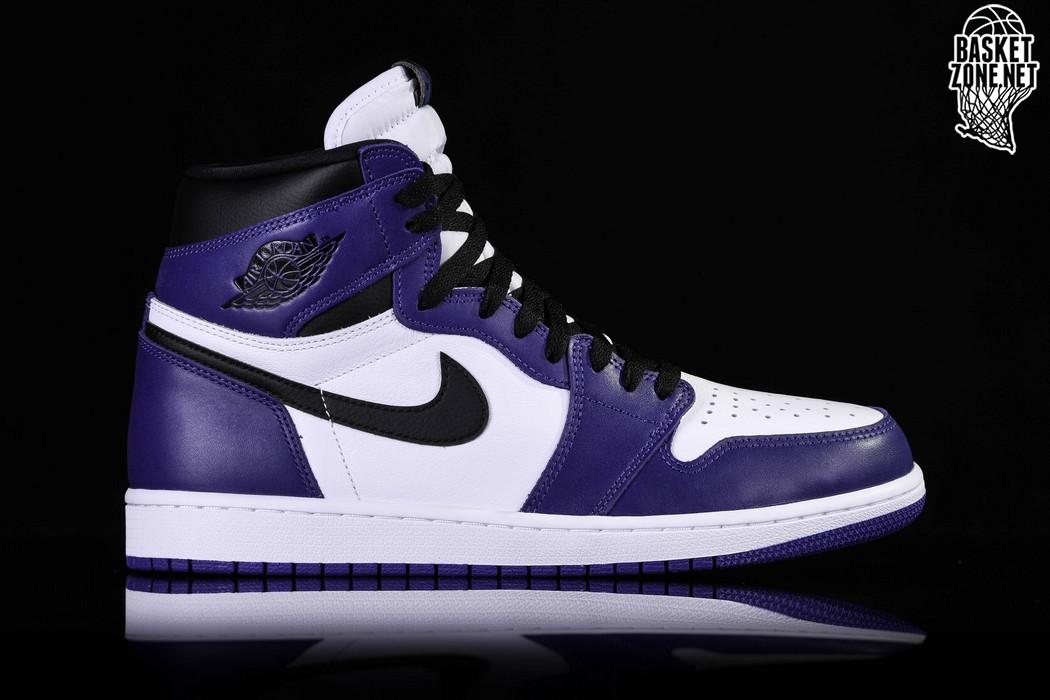 basket air jordan 1 retro high court purple
