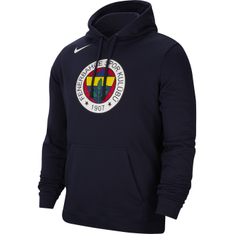 NIKE FENERBAHCE BASKETBALL CLUB FLEECE PULLOVER HOODIE